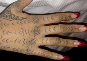 Rihanna, un caprice pour son tatouage!