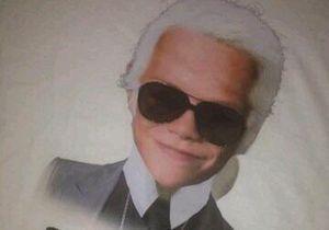 Romeo Beckham se prend pour Karl Lagerfeld!