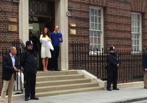 Royal baby : premier bain de foule pour la fille de Kate Middleton !