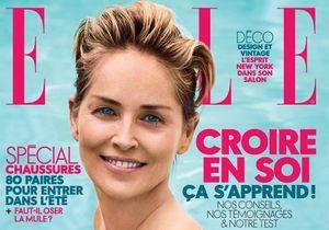 Sharon Stone, notre cover girl, se confie dans ELLE cette semaine