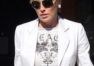 Sharon Stone perd la garde de son fils