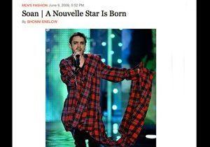 Soan : un article élogieux dans le NY Times !