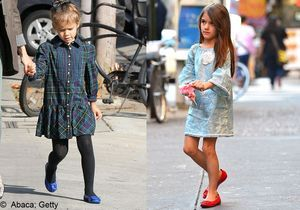 Suri Cruise et Honor Warren : le duel des mini-fashionistas !