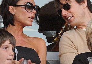 Tom Cruise : conseiller conjugal des Beckham !