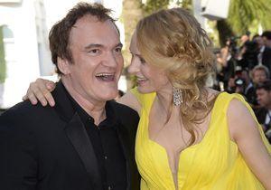 Uma Thurman et Quentin Tarantino: le baiser qui lance la rumeur