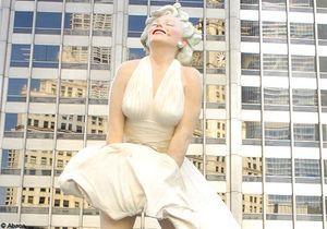 Une statue de Marilyn Monroe haute de 8 mètres à Chicago