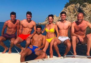Véronique Zidane, bien entourée avec ses fils et Zizou en vacances !