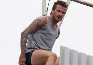 Victoria Beckham se moque de David, en slip pour H&M