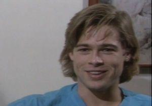 Vidéo : découvrez l'interview de Brad Pitt à 23 ans