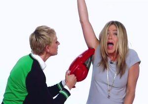 Vidéo: Jennifer Aniston ridiculisée par Ellen DeGeneres!