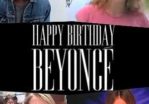 Vidéo : les stars souhaitent un bon anniversaire à Beyonce !