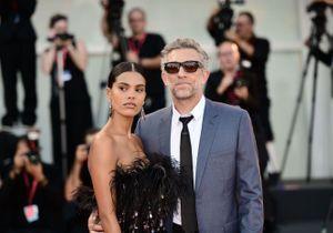 Vincent Cassel et Tina Kunakey, couple glamour à la Mostra de Venise