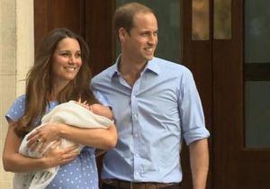 Will et Kate : premier bain de foule pour le bébé royal