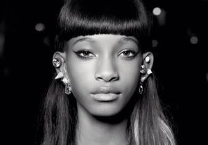Willow Smith, shootée par Karl Lagerfeld