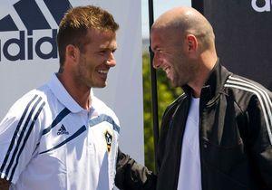 Zidane et David Beckham : retrouvailles des deux amis, une bromance pour Adidas !