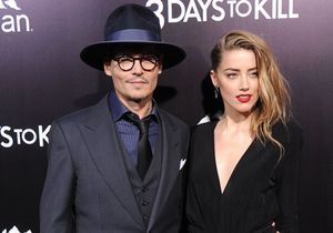 Le look du jour : Amber Heard ne cache plus son amour pour Johnny Depp