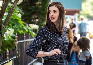 Le look du jour : Anne Hathaway a retrouvé ses longs cheveux !