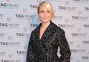Le look du jour : Cameron Diaz et sa robe-manteau à New York