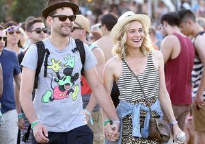 Le look du jour: Diane Kruger et Joshua Jackson à Coachella