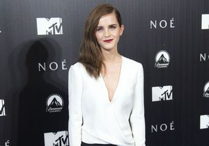 Le look du jour : Emma Watson, en combi J. Mendel pour « Noé »