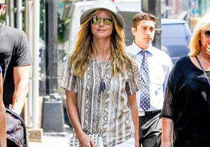 Le look du jour : Heidi Klum incognito dans les rues de New York