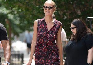 Le look du jour : Heidi Klum, New-Yorkaise chic et discrète !