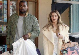 Le look du jour : Kanye West et Kim Kardashian en séance shopping