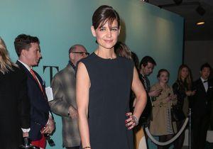 Le look du jour : Katie Holmes joue les Audrey Hepburn pour Tiffany & Co