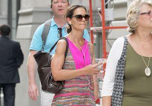 Le look du jour : Katie Holmes seule à New York