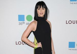 Le look du jour : Katy Perry, glamour en Versace