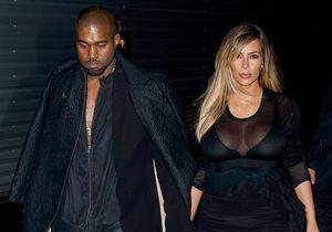 Le look du jour: Kim Kardashian et Kanye West au défilé Givenchy