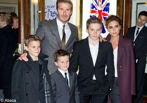 Le look du jour : la famille Beckham