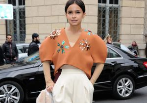 Le look du jour : Miroslava Duma à la Fashion Week de Paris