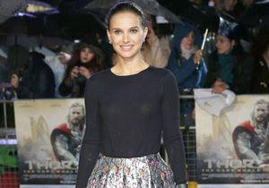 Le look du jour : Natalie Portman en Dior à la première de « Thor »