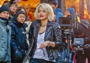 Le look du jour : Rita Ora, en tournage à New York