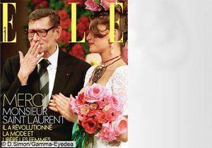 ELLE aime Yves Saint Laurent