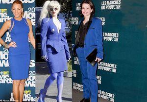 Elles portent toutes du bleu Klein