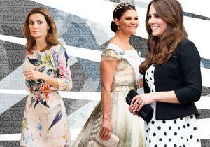 Kate, Victoria, Letizia : des robes de princesse shoppées dans nos enseignes préférées