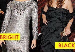 Robe de soirée : black ou bright ?