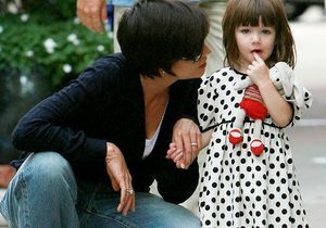 Suri Cruise, mini-fashionista !