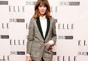 Alexa Chung : très classe aux Elle style awards