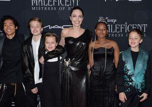Angelina Jolie, radieuse et complice avec ses enfants sur le tapis rouge
