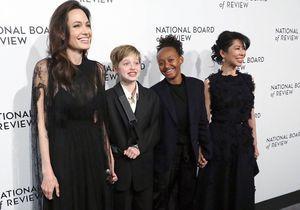 Angelina Jolie : tapis rouge avec ses filles Shiloh et Zahara