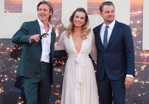Brad Pitt, Leonardo DiCaprio, Margot Robbie : le tout-Hollywood réuni pour l'avant-première de « Once Upon A Time… In Hollywood »