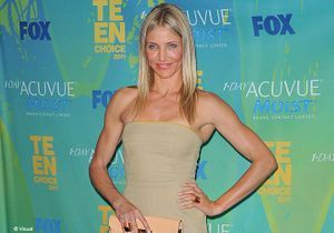 Cameron Diaz éclipse les starlettes aux Teen Choice Awards