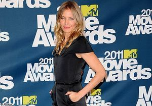 Cameron Diaz très sexy pour les MTV Movie Awards