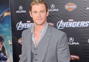 """Chris Hemsworth, superhéros à l'avant-première de """"The Avengers"""""""