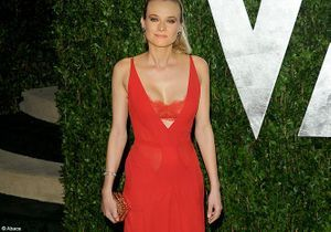 Diane Kruger, beauté incendiaire à la soirée post-Oscars de Vanity Fair