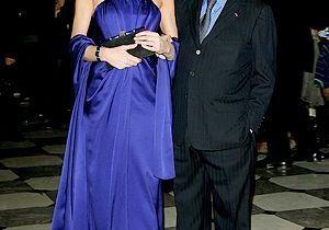 Dîner de la mode au profit du Sidaction, le 29 janvier 2009 à Paris