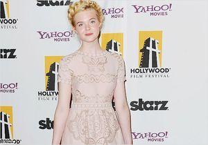 """Elle Fanning, princesse des temps modernes au """"Hollywood Film Awards"""""""